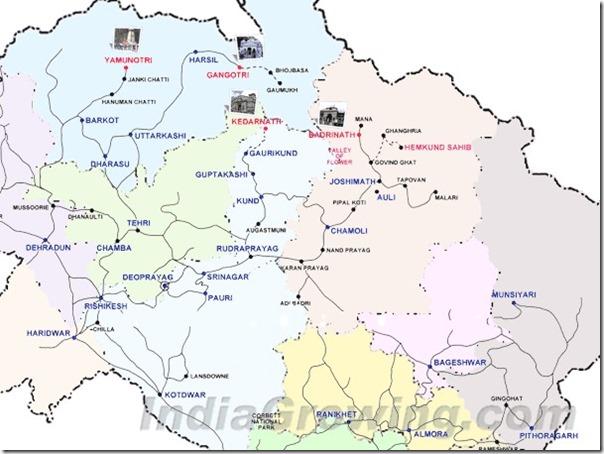 Uttarkhand pilgrim mapp