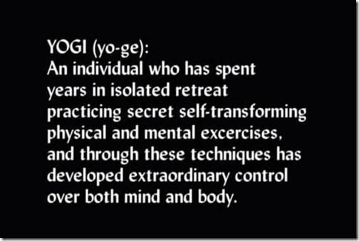 yogi of Tibet